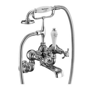 Burlington Anglesey Regent Wall Mounted Bath Shower Mixer