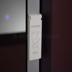 Cassellie Iridium LED Universal Bathroom Mirror Shaver Socket