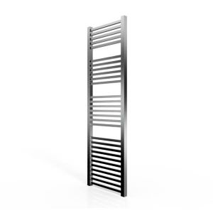 Cassellie Chrome Straight Heated Towel Rail 1600 x 500mm