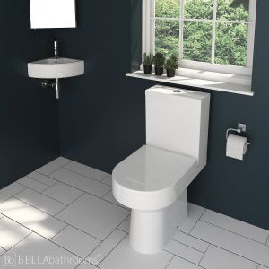 Cassellie Corner Basin and Harmony Toilet Cloakroom Suite