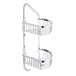 Cassellie Rounded Corner Double Wire Caddy