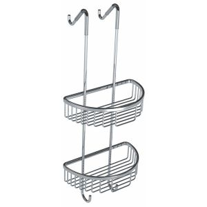 Cassellie Double Wire D-Shaped Shower Tidy