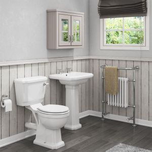 Cassellie Cromford Toilet and Basin Set