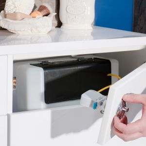 Cassellie Dual Flush Concealed Cistern Lifestyle