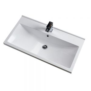 Cassellie Idon Polymarble Mid-Edge Basin 800mm