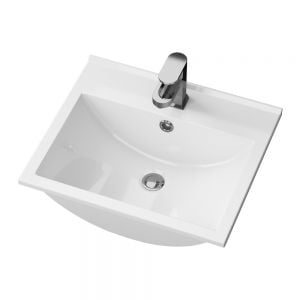 Cassellie Idon Polymarble Thin Edge Basin 500mm