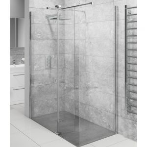 Cassellie Lana Wet Room Panel with Optional Side Panel