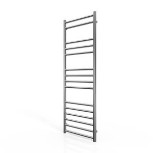 Cassellie Stainless Steel Straight Heated Towel Rail 1200 x 450mm