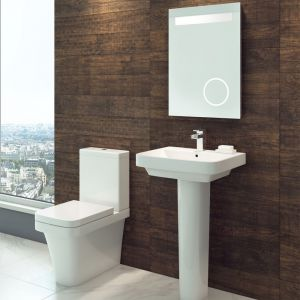 Cassellie Rivelin Toilet and Basin Set