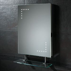 HiB Celeste LED Bathroom Mirror with Shelf