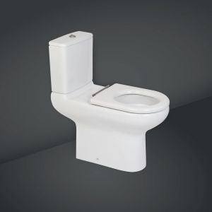 RAK Compact Rimless Deluxe Comfort Height Full Access Toilet