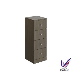 Elation Ikoma Bodega Grey 4 Drawer Unit