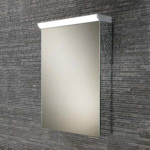 HiB Flux Top Illuminated Compact Mirrored Cabinet