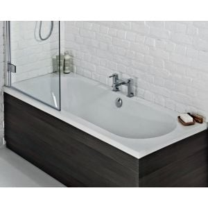 Frontline Duo Luxury Double Ended Bath in Situation