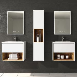 Hudson Reed Coast White Gloss Lifestyle picture