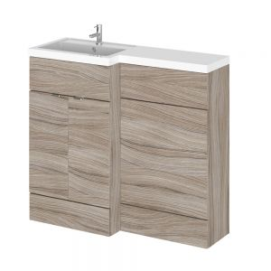 Hudson Reed Fusion Driftwood Full Depth Combination Furniture Pack 1000mm