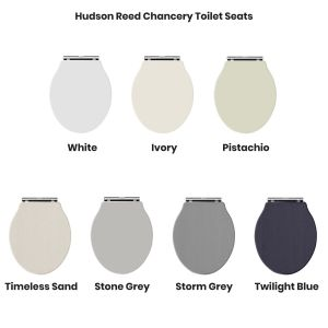 Hudson Reed Chancery Toilet Seats