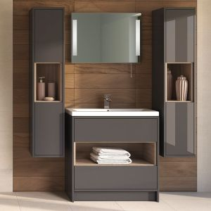 Hudson Reed Coast Grey Gloss Lifestyle picture