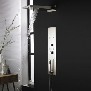Hudson Reed Interval Recessed Thermostatic Shower Panel