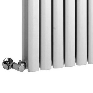 Hudson Reed Revive White Double Panel Designer Radiator Detail 2