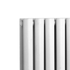 Hudson Reed Revive White Double Panel Designer Radiator Detail 1