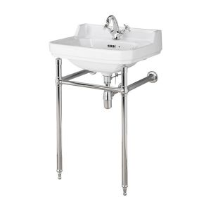 Hudson Reed Richmond 1 Tap Hole Basin with Washstand 560mm