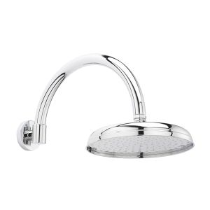 Hudson Reed Traditional Fixed Shower Head and Arm
