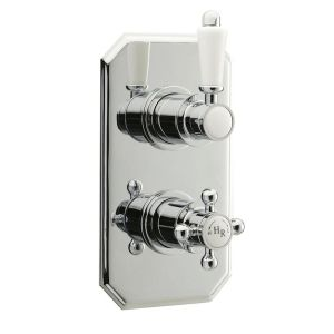 Hudson Reed Traditional Twin Thermostatic Shower Valve
