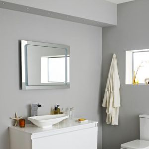 Hudson Reed Insight Backlit Mirror with De-mist Pad & Motion Sensor Technology