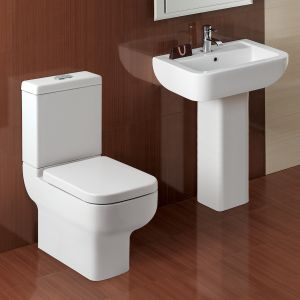 Kartell K-VIT Options 600 Close to Wall Toilet with Soft Close Seat  3