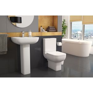 Kartell K-VIT Options 600 Toilet with Soft Close Seat  1