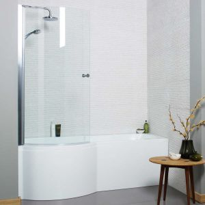 Kartell K-vit White Adapt P Shape Front Panel 1500mm
