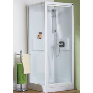 Kinedo Kineprime Pivot Thermostatic Self Contained Shower Cubicle