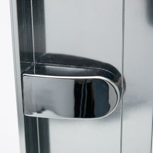 Merlyn Ionic Express Pivot Door with Optional Side Panel