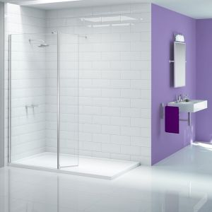 Merlyn Ionic Walk In Wetroom with Optional Side Panel