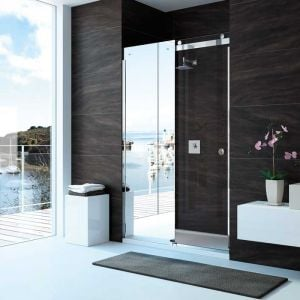 Merlyn Series 10 Sliding Shower Door with Optional Side Panel