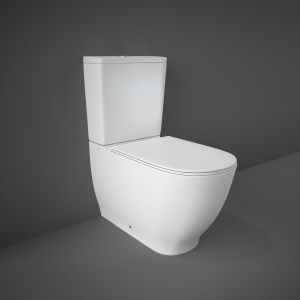RAK Moon Rimless Back To Wall Toilet with Soft Close Seat