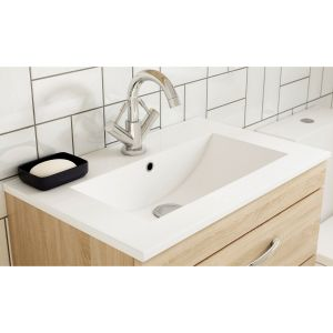 Nuie Athena Basin Option 2 - Slimline Basin