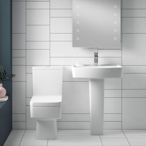Nuie Bliss Toilet and Basin Set