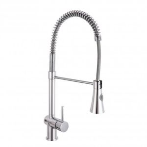Nuie Pull Out Kitchen Mixer Tap with Rinser