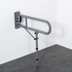 Nymas Lift & Lock Stainless Steel Support Rail with Leg 800mm