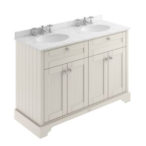 Old London Timeless Sand Vanity Unit with Marble Top 1200mm