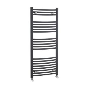 Premier Anthracite Curved Ladder Towel Rail