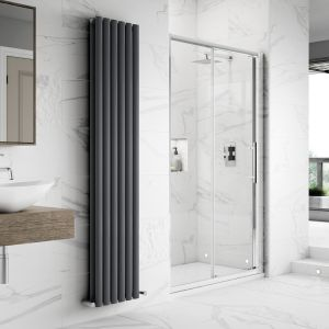 Hudson Reed Apex Sliding Shower Enclosure Recess