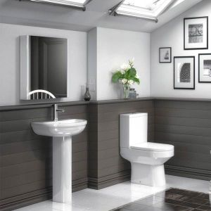 Premier Harmony Flush To Wall Pan with Cistern