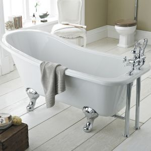 Hudson Reed Kensington Freestanding Slipper Bath with Leg Set