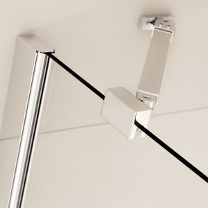 Prestige Frameless 4 Fold Right Hand Bath Screen Bracket