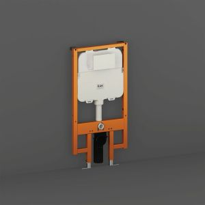 RAK Ecofix Concealed Cistern with Metal Support Frame 580mm