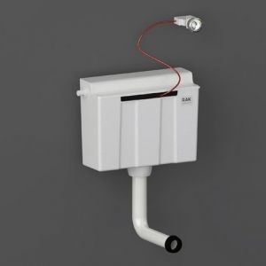 RAK Ecofix Side Inlet Concealed Cistern with Push Button