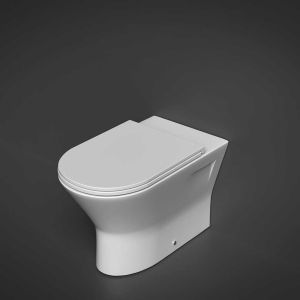 RAK Resort Back To Wall Comfort Height Toilet with Sandwich Soft Close Seat